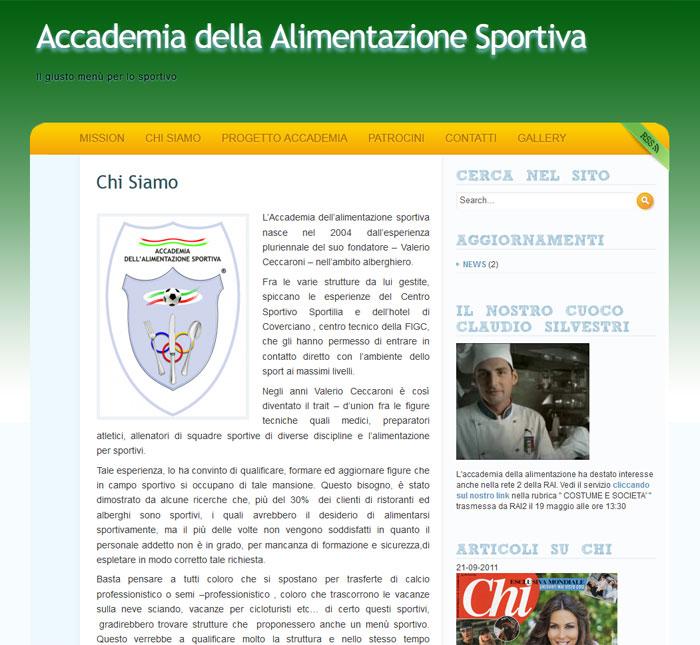 Accademia della Alimentazione Sportiva